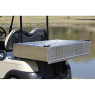 Aluminum Utility/Cargo Box for EZGO, Club Car, Yamaha