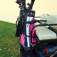 Universal Rear Seat Golf Bag Rack