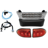Club Car Precedent LED Light Bar Bumper Kit, Electric 04-08.5