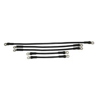 Golf Cart Battery Cable Set, 4 Gauge, EZGO X444/Marathon Electric 1994 & Down, High Speed Motor