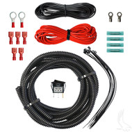 Golf Cart State of Charge Meter and Power Outlet Wiring Kit