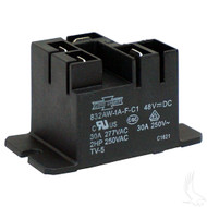 Golf Cart Charger Relay, 48V, Club Car PowerDrive Chargers 48V Electric 95+