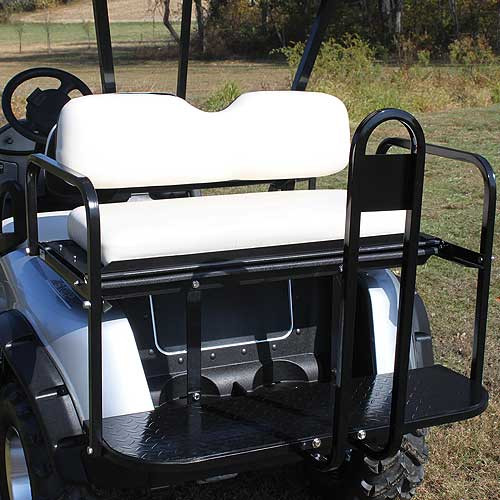 EZGO RXV Flip Rear Golf Cart Seat Kit