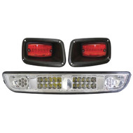 LED Light Bar Kit, Clear Lens, EZGO TXT 94-13
