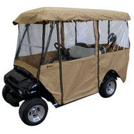 Deluxe 4-Passenger Golf Car Enclosure