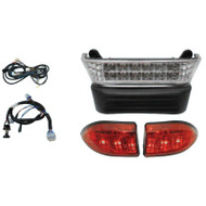 Golf Cart Light Bar Kit, LED, Club Car Precedent Electric 08.5+ with 12V Batteries