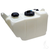 EZGO TXT Golf Cart Gas Tank with Grommet, Siphon, Rollover Valve and Rollover Valve Grommet.