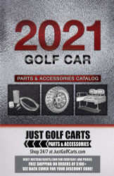Just Golf Carts 2021 Golf Cart Parts and Accessories Catalog