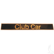 Golf Cart Replacement Emblem, Club Car DS 1982+