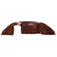 Custom Three Door Golf Cart Dash, Club Car Precedent 2008.5+, Dark Woodgrain