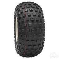 Golf Cart Tire, 18x9.5-8 Duro Knobby