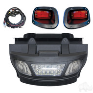 Golf Cart Light Bar Kit with LED Bulbs, EZGO TXT 2014+
