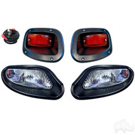 Factory Style Golf Cart Light Kit with Halogen Bulbs, EZGO TXT 2014+