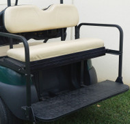 Golf Cart Flip Rear Seat with Thermoplastic Utilideck, Club Car Precedent