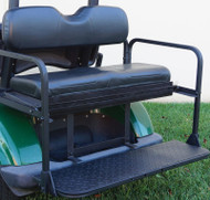 Golf Cart Flip Rear Seat with Thermoplastic Utilideck, Yamaha Drive