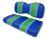 Three-Tone Custom Golf Cart Seat Covers