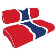 Patriotic Hourglass Custom Golf Cart Seat Covers