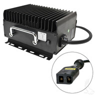 Golf Cart Battery Charger, EZGO PowerWise, 15 Amps, 36 Volts