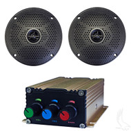 "Starter Golf Cart Bluetooth Audio Package with 5"" Speakers"