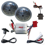 "Golf Cart Bluetooth Audio Package with 5"" Speakers (RAD-041)"