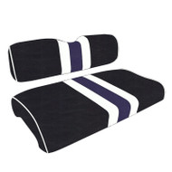 Baltimore Ravens Custom Helmet Stripe Golf Cart Seat Covers