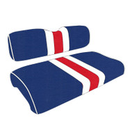 Buffalo Bills Custom Helmet Stripe Golf Cart Seat Covers