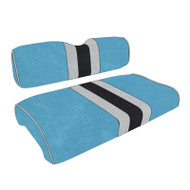 Carolina Panthers Custom Helmet Stripe Golf Cart Seat Covers