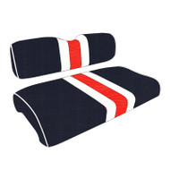 Chicago Bears Custom Helmet Stripe Golf Cart Seat Covers