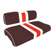 Cleveland Browns Custom Helmet Stripe Golf Cart Seat Covers