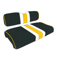 Green Bay Packers Custom Helmet Stripe Golf Cart Seat Covers