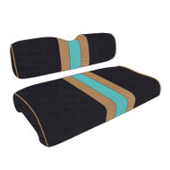 Jacksonville Jaguars Custom Helmet Stripe Golf Cart Seat Covers