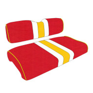 Kansas City Chiefs Custom Helmet Stripe Golf Cart Seat Covers