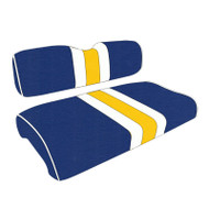 Los Angeles Rams Custom Helmet Stripe Golf Cart Seat Covers