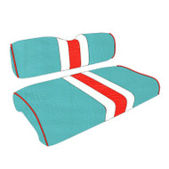 Miami Dolphins Custom Helmet Stripe Golf Cart Seat Covers