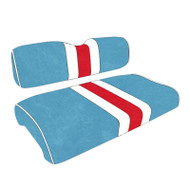 Houston Oilers Custom Helmet Stripe Golf Cart Seat Covers