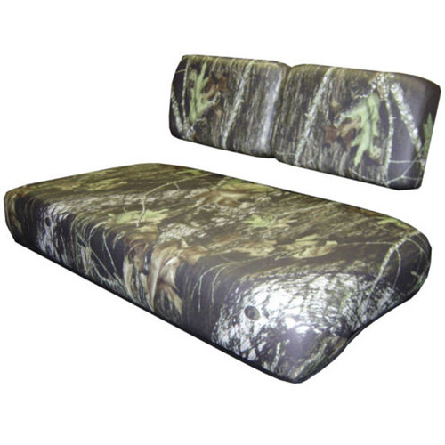 Club Car Turf/Carryall with Thin Split Backrests Seamless Vinyl Camouflage Set
