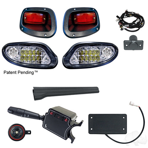 LED Factory Style Light Kit Package, EZGO TXT 2014+ (LGT-371L-PKG)