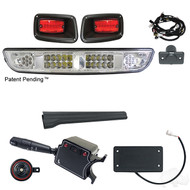 LED Light Bar Kit Package, EZGO TXT 1996-2013 (LGT-622L-PKG)