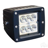 "Golf Cart LED Utility Spotlight, 3.25"", 12-24V, 24W, 1500 Lumen"