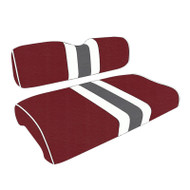 Alabama Crimson Tide Custom Helmet Stripe Golf Cart Seat Covers