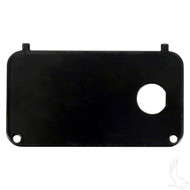 Golf Cart Key Switch Console Plate, EZGO Medalist/TXT