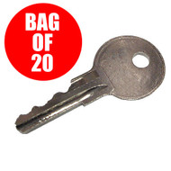 Golf Cart Keys, EZGO Gas & Electric 1982+, Bag of 20