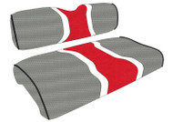 Ohio State Buckeyes Custom Hourglass Stripe Golf Cart Seat Covers