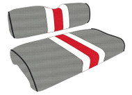 Ohio State Custom Helmet Stripe Golf Cart Seat Covers