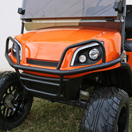 Golf Cart Brush Guard, Black Powder Coat, EZGO Express