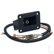 Golf Cart Charger Receptacle Assembly, EZGO Powerwise, Aftermarket