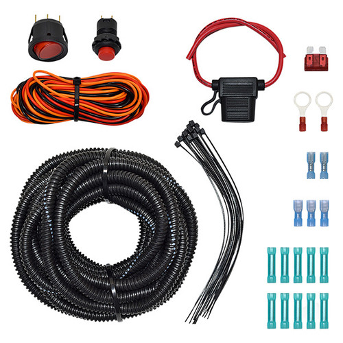 Golf Cart LED Strobe Light Bar Wiring Kit
