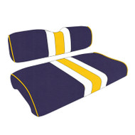 LSU Custom Helmet Stripe Golf Cart Seat Covers