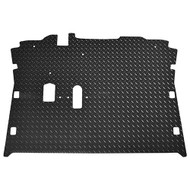 Golf Cart Diamond Plate Rubber Floor Mat, EZGO RXV08+