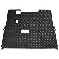Golf Cart Diamond Plate Rubber Floor Mat, EZGO TXT 01.5+